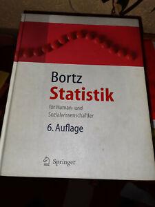Jürgen Bortz, Statistik für Human- und Sozialwissenschaftler / 6. Auflage Bortz,