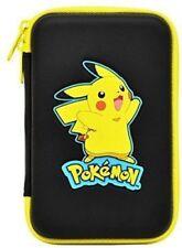 Pikachu Hard Pouch Black Nintendo 3DS