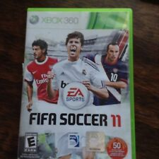 XBOX 360 FIFA SOCCER 11-  Excellent Condition  - Rated E