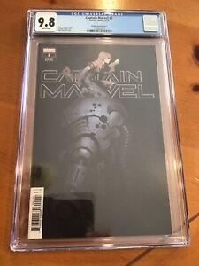CAPTAIN MARVEL #2 (2019) CHRIS BACHALO Incentive  1:50 CGC 9.8 Super Rare 🔥