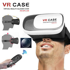 VR BOX Virtual Reality 3D Glasses Headset+Control For Samsung Galaxy S4 S5 S6 S7