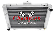 Champion Racing 3 Row Aluminum Radiator For 1964 Ford Galaxie 500XL