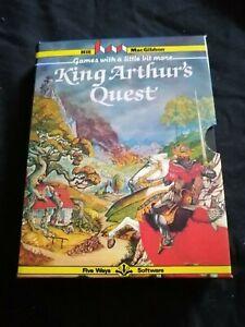 King Arthurs Quest - ZX Spectrum 48K Hill Macgibbon 1984 Tested & Working