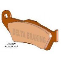 DELTA Sintered Rear Brake Pads  for DUCATI MULTISTRADA 1200 Pikes peak  1198cc 1