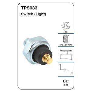 Tridon Oil Pressure Switch TPS033 fits Chrysler Valiant AP5 3.7, AP6 3.7, AP6...