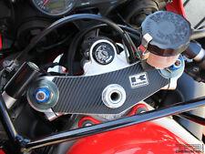 Carbon Fiber Triple Clamp Decal 2005 - 2008 Kawasaki ZZR 600 ZZR600 - 3M Vinyl