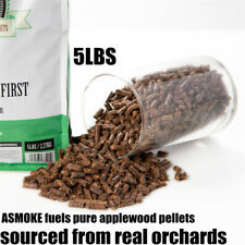ASMOKE 5lbs of 100% Natural Apple Wood Cooking BBQ Pellets Smoker Fired Grilling
