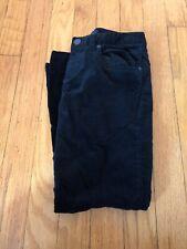 Euc Ralph Lauren Size 7 Girls Black Velvet Pants