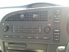 saab 93 convertable 03-07 factory radio