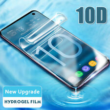 For Samsung Galaxy S10 Plus S9/8/7 Note 10 10D Hydrogel Film Screen Protector