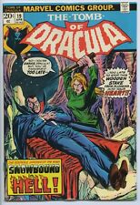 TOMB OF DRACULA #19 - Blade learns he has vampire blood