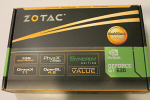 Zotac GT630 (ZT-60404-10L)SynergyEdition 1GB 128Bit DDR3 HDMI/DVI-New/Sealed Box