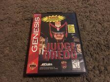 Judge Dredd (Sega Genesis, 1995) WITH CASE, NO MANUAL