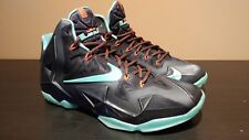 Nike LeBron 11 XI Diffused Jade VNDS 10.5 Red Carpet 2014