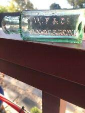 Antique glass bottle