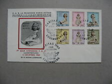 LUXEMBOURG, cover FDC 1960, Caritas Princesse Marie-Astrid, royalty (1)