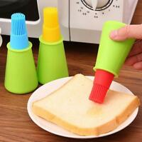 Silicone Oil Brush Liquid Bottle Kitchen Tools Baking Pancake Cake Bread Pastry
