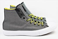 Converse CTAS II Hi Chuck Taylor Mens Size 11 Shoes Black White Yellow 155536C