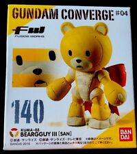 #140 GUNDAM CONVERGE #4, BEARGGUY [ SAN ], BANDAI imported from JAPAN