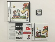 Mario & Luigi Bowsers Inside Story Nintendo DS CIB Complete Authentic Tested