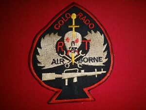 Vietnam War Patch US 5th Special Forces Group MACV-SOG RT COLORADO CCC AIRBORNE