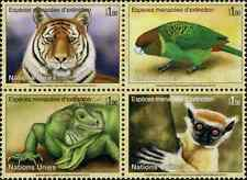 Timbres Animaux Nations Unies Genève 797/800 ** année 2012 lot 21968