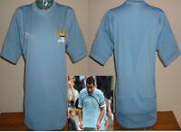 Manchester City 2010/11 base layer Umbro football shirt player issue/ match worn
