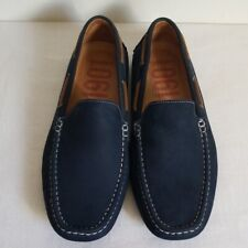 1901 Blue Leather Driving Shoe Loafer Mens Size 9.5