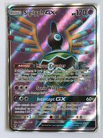 Sigilyph GX FULL ART ULTRA RARE 195/214 SM Lost Thunder Pokemon HOLO NM