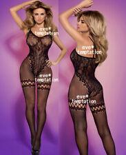 Sexy Fishnet BODYSUIT Babydoll Lingerie Underwear dress Chemises Body Stocking