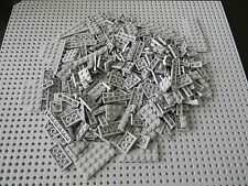 Lego Castle - 250+ Small and Medium size Light Gray Plates - New Condition !!