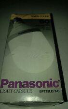 PANASONIC Light Capsule -Energy Saving Light Bulb BFT15LE/T-C  NEW