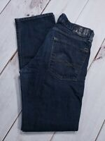 Levis Denizen 232 Mens Slim Straight Fit Jeans Blue Size 32 Inseam 31""