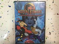 Mortal Kombat DVD les Défenseurs de La Terre Neuf Scellé New Sealed Combat