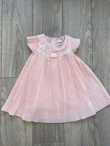 Gorgeous Ted Baker baby girl pleated dress 9-12 months