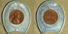 Encased Coins: 1964 Cent, Esskay Meat Products