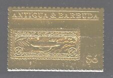 Flugzeuge  Zeppelin  Luftschiff  Antigua & Barbuda  K 1206  Gold  ** (mnh)