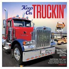 KEEP ON TRUCKIN' - 40 TRUCKIN' FAVOURITES -  VARIOUS ARTISTS (NEW SEALED 2CD)