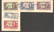 Southern Rhodesia #33-36 VF USED - 1935 1p to 6p Victoria Falls and George V