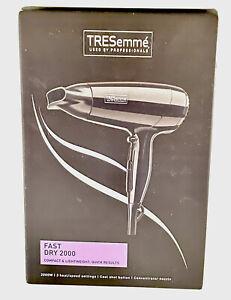 TRESemme 9142TU Fast Dry Hair Dryer 2000W Compact Design Original
