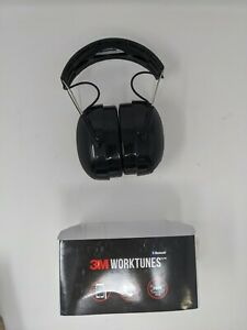3M WorkTunes Gel Filled Ear Pads Noise Reduction Bluetooth Hearing Protection
