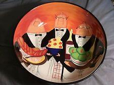 """Certified International Dinner is Served Butler 13"""" Serving Bowl Salad Bowl"""