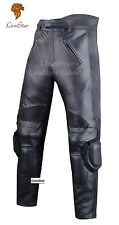 Lionstar Bravo Motorbike Motorcycle Real Leather Racing Trousers CE Approved