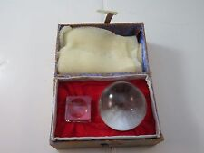 New Fantasy Mythical Magic & Scyring 50mm Orbuculum Crystal Ball & Stand