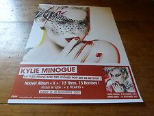 KYLIE MINOGUE - Publicité de magazine / Advert X  !!!!!
