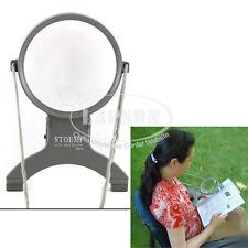 2X 4X Cross Stitch Neck Chest Glass Magnifier Dual Illuminated LED Light 7601 UK