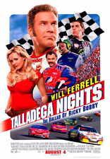 TALLADEGA NIGHTS: THE BALLAD OF RICKY BOBBY Movie Promo POSTER B Will Ferrell