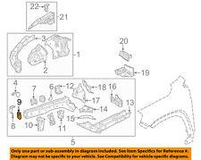 GM OEM Fender-Stay Support Bracket Right 84054590