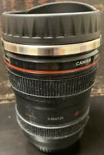Caniam Camera Lens Thermos As Canon EF 24-105mm f/4.0L Coffee Tea Cup 1:1. Used