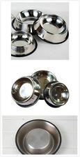 """1 Pack Stainless Steel Dog Pet Food Water Bowl 4"""" Diameter"""